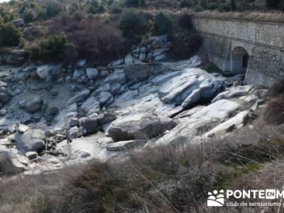 Senda Genaro - GR 300 - Embalse de El Atazar; senderismo pontevedra